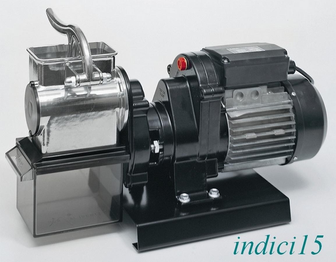 Indici15 Grattugia Elettrica 9020N n°5 500W 0,40HP Professionale Reber